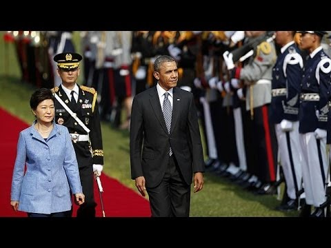 Obama in Seoul amid fears of North Korea nuclear test