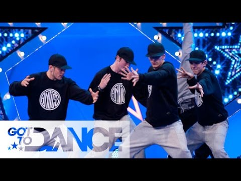 Got To Dance Series 3: Antics Audition - sky.com/dance