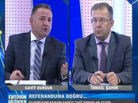 07.02.2017 BARO BAŞKANIMIZ AV. CAVİT DURSUN  TV 1