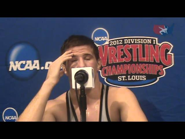 133-pound NCAA Champion Logan Stieber of Ohio State