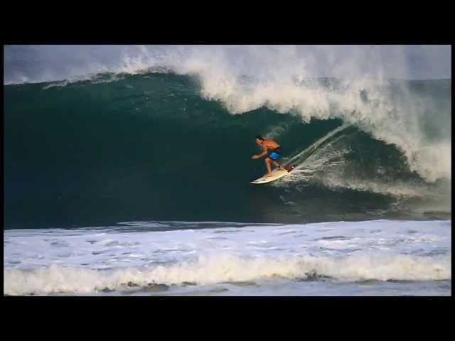 Greg Long at Puerto 2 - 2014 Ride of the Year Entry - Billabong XXL Big Wave Awards