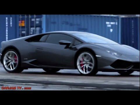 Lamborghini Huracán Driving Car Chase Mini Movie Pursuit Video CARJAM TV HD 2014