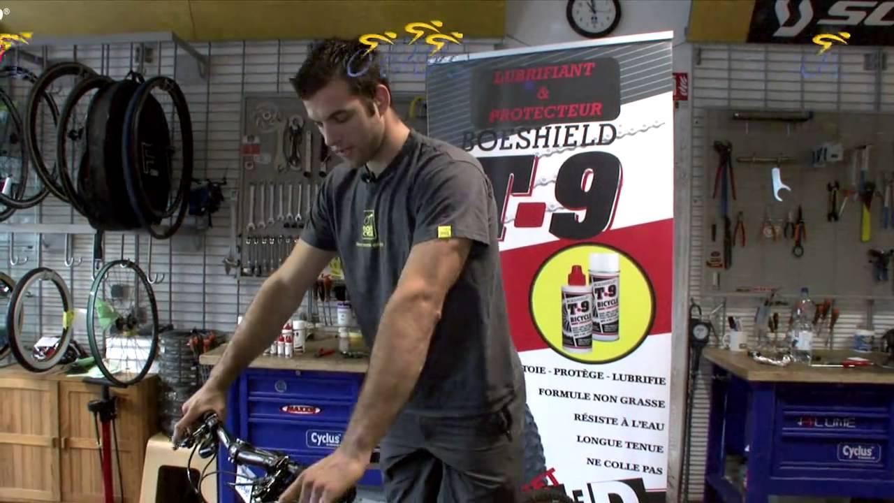 Lubrifiant Vélo T9   Leçon de mécanique   Installer et régler une fourche