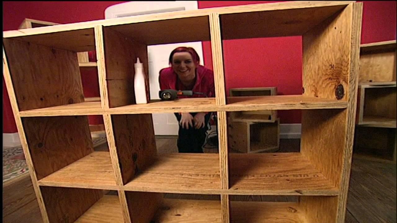 schrank expedit regal bauen tool town bastel heimwerk tipps youtube. Black Bedroom Furniture Sets. Home Design Ideas