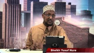 Sheikh Yusuf Nure Friday Ramadan 2014