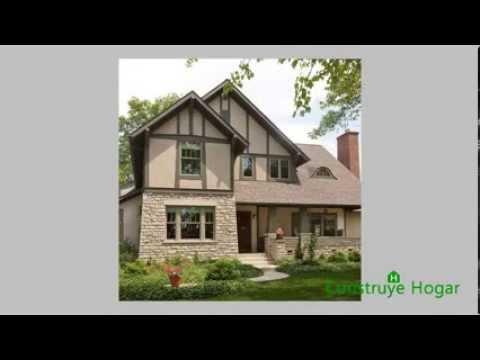 Fachadas de casas r sticas dise os y modelos youtube - Diseno casas rusticas ...