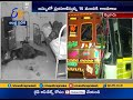 Lorry buses collision 15 injured near Nellore