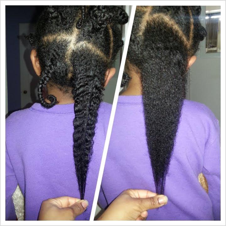 Natural Hair Flat Iron Regimen