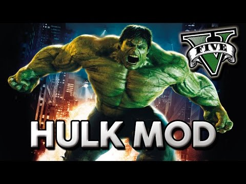 GTA V no PC – Hulk MOD