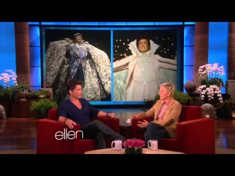 Rob Lowe on Liberace and Face Lifts - new