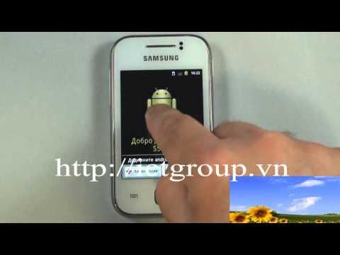 Reset cứng khôi phục cài đặt gốc nhà sản xuất Samsung Galaxy Y S5360 hard reset