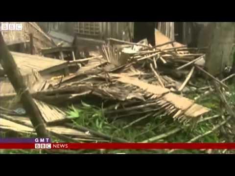 Bão Utor ở Philippines