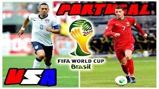 USA Vs. Portugal FIFA World Cup Brazil 2014 Highlights
