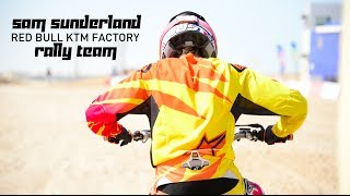 Sam Sunderland signed for Red Bull KTM Factory Rally Team -1st ride Dubai Motocross!