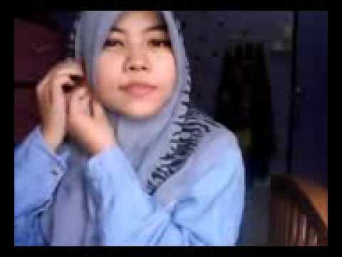 tutorial tudung bawal simple   YouTube