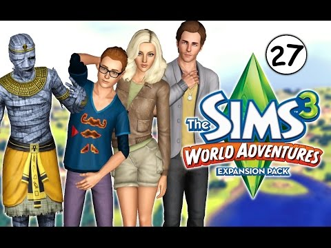 Let's Play: The Sims 3 World Adventures (Part 27) - Market Chambers