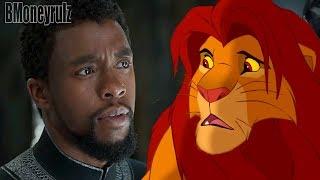 BLACK PANTHER (2018): Lion King Mash-Up Trailer Parody