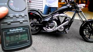 Video 2012 Honda Fury Stock Exhaust VS FSD Exhaust.avi