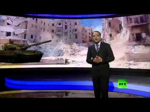 لأول مرة في العالم اخبار بتقنية 3D: دبابات تدخل الأستوديو