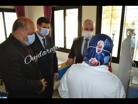 فيديو وصور…وزير الصحة والعامل ثابت في زيارة ميدانية لمراكز التلقيح