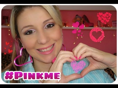 Maquiagem rosa, delicada e feminina (Especial Outubro Rosa)