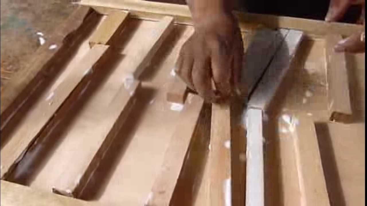 Como hacer una puerta contraplacada casera youtube - Como hacer una puerta rustica ...