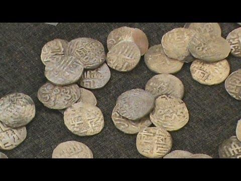 Уникальный клад монет