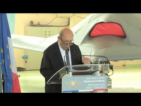 Speech of the French Minister of Defense - Istres - Dassault Aviation