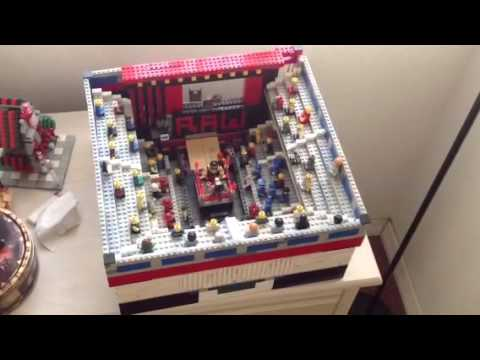 Wrestling Ring Made Out Of Bricks