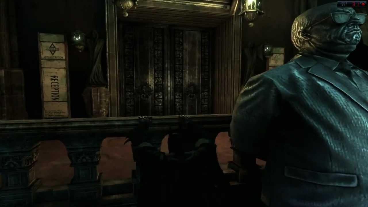 Batman Quincy Sharp Secret Room
