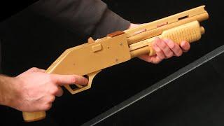 [rubber Band Gun] Pump-action Shotgun