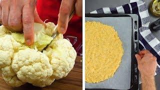 Dos increíbles recetas con coliflor