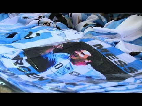 Messi craze grows in Argentina ahead of World Cup final