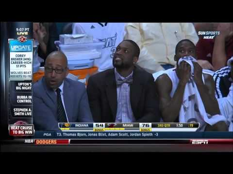 April 11, 2014 - ESPN - Game 79 Miami Heat Vs Indiana Pacers - Win (54-25)(Sportscenter)