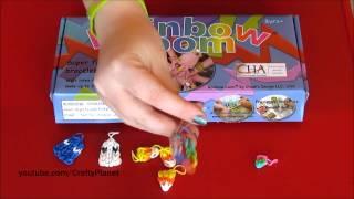 Rainbow Loom Rubber Band Bracelet Charms I Made Rainbow