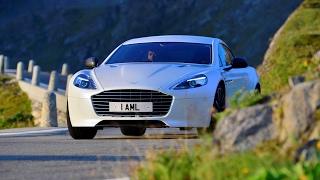 Furka Pass In Aston Martin Rapide S - Rory Reid's Road Trips - Top Gear. Watch online.