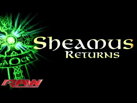Sheamus returns to action: Raw, February 9, 2015