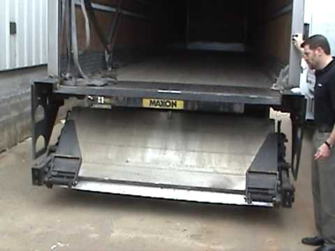 Maxon Gptlr 60 Quot X86 Quot 10 Quot And Sl Liftgate Youtube