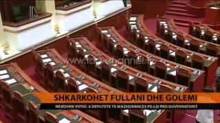Shkarkohet guvernatori Fullani  Top Channel Albania  News  L
