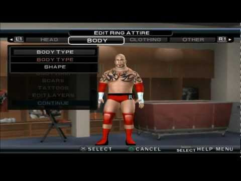WWE 12 LORD TENSAI CAW FORMULA  PS2 (PLUS 13 WWE REALISTIC CAW PICTURES FOR PS2) HD