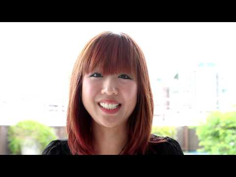 Hiroko Okunishi Introduces Herself in Chinese