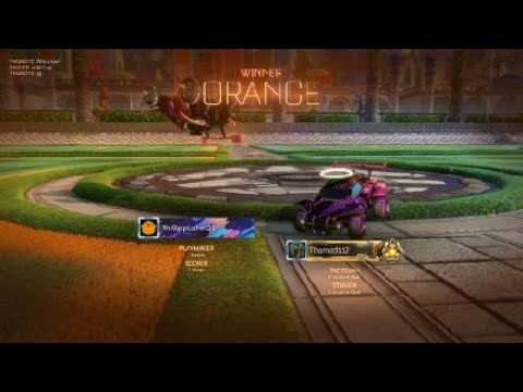 Rocket League gameplay #1