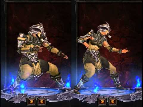 Diablo III Monk Armor Preview