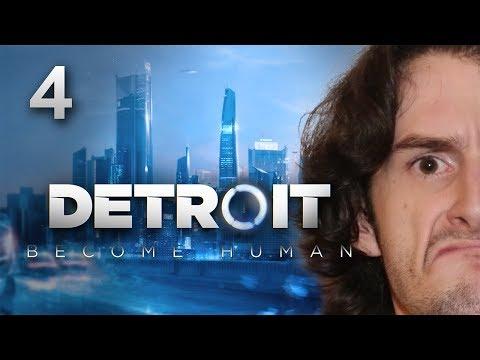 VIDAGE DE LA CORBEILLE !!! -Detroit : Become Human- Ep.4 avec Bob Lennon