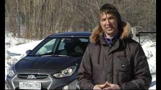 тест Hyundai Solaris  www.skorost-tv.ru