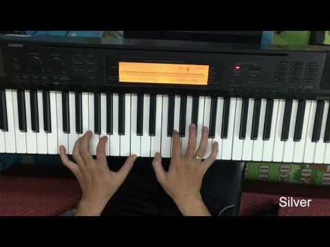 Lạc nhau có phải muôn đời - Piano tutorial. Hướng dẫn piano
