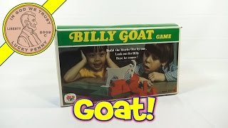 Billy Goat Game #208, 1973 Schaper Games A Cootie Company