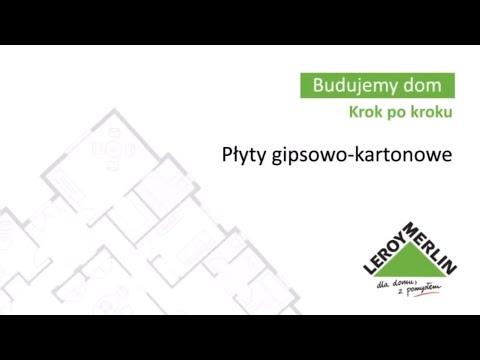 Płyty gipsowo-kartonowe. Budowa domu