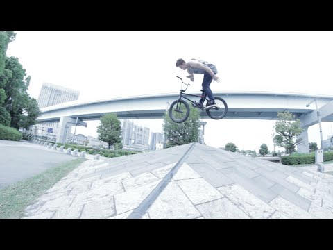 Stevie Churchill Double Barspin Hip in Tokyo