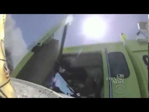 New Video shows Moments After Asiana Crash firefighters ignoring victim on ground!